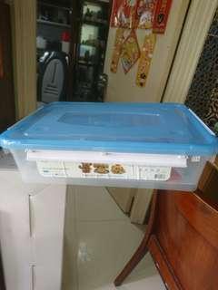 日本城收納膠箱