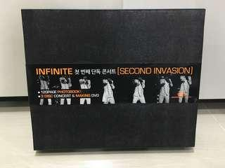 INFINITE SECOND INVASION DVD