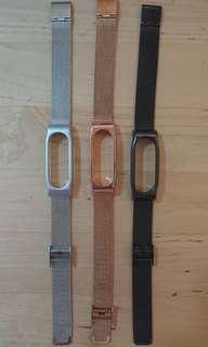 🚚 Xiaomi Mi band 2 metal strap