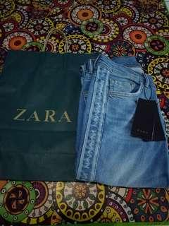 Jeans with side stripe ZARA MAN