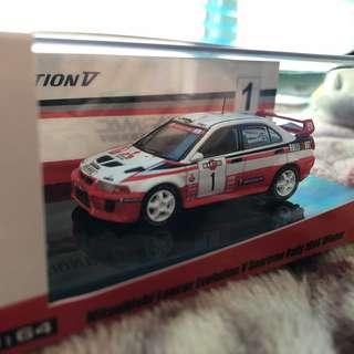 1:64 Mitsubishi Lance Evolution V Rally