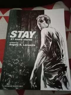 Stay : 21 Comic Stories by Angelo R. Lacuesta
