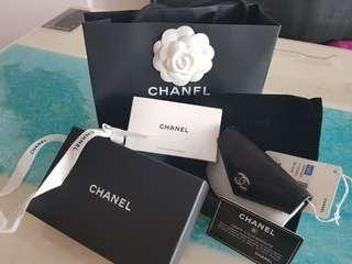 Brand New Chanel Card Holder full set with copy of receipt