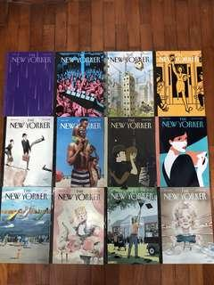 The New Yorker Past Issues (Apr-Jul 2016)