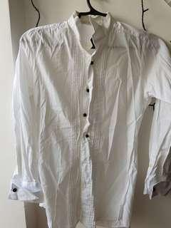 Original Onesimus White long sleeves