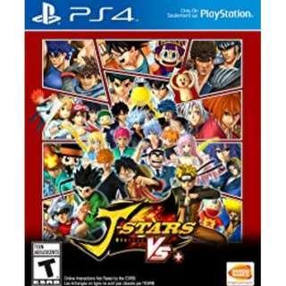 PS4 J-Stars VS+