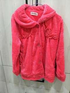🚚 整套珊瑚絨睡衣#桃粉#柔膚#上衣褲子
