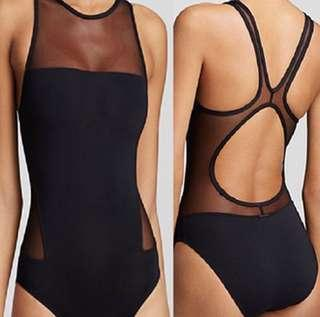 Mesh One Piece Swimsuit