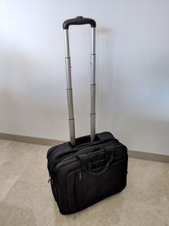 Delsey Laptop bag on wheels
