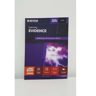 BAC Evidence & Land Law 2018 Edition