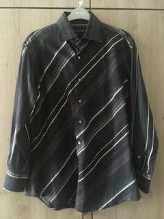 Salt n pepper mens casual formal shirt