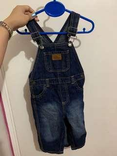 Carters ORI overall jeans