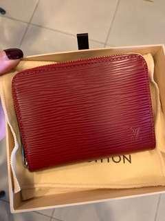 🚚 Louis Vuitton epi leather zippy coin purse