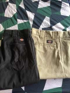🚚 Dickies 873 black and khaki long pants