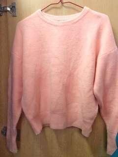 粉紅色 粉橙色 冷衫