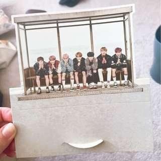 Official BTS YNWA First Press Limited Standee w/ all members