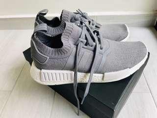 BNIB Adidas NMD R1 PK Primeknit Grey