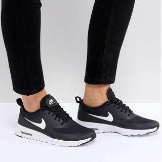 hot sale online 01c0f 6e683 Nike Air Max Thea Black White Sneakers Shoes
