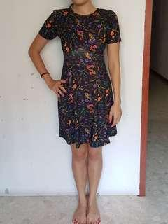 🚚 ASOS dark floral dress