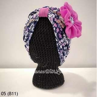 🚚 Zahra Baby/Kids Turban 05 (Batch 11)