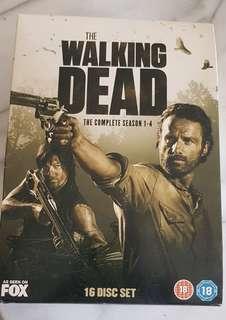 Walking Dead, Season 1-4, 16 Disc set