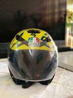 AGV helmet K5 jet winter test 2012