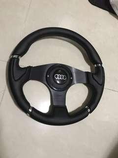 改裝軚盤 真皮 鋁合金 logitech thrustmaster 可改裝 steering wheel