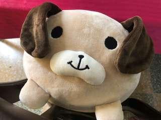 Brown Dog Super Soft Cuddly Stuff Toy