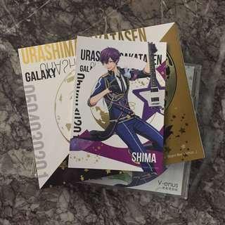 USSS V-enus Shima Trading Card