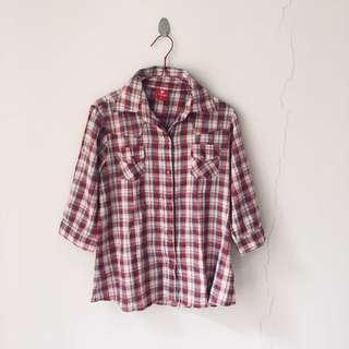 Cardinal plaid shirt