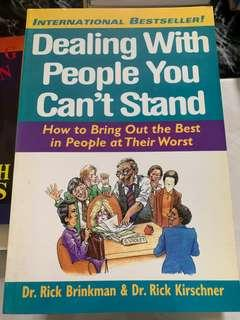 Dealing with People You Cant Stand