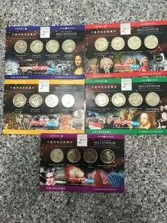 🚚 NTUC commemorative year 2000 coins