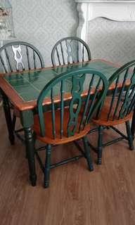 Dinigg Table..Tile Top.