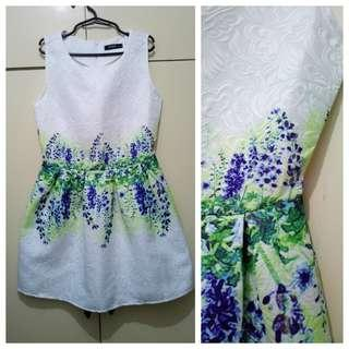 WA1051 Bought But Never Used - White Short Cocktail Dress