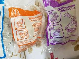 Happy meal collectibles