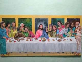 Last Supper by Alexandre Dalit