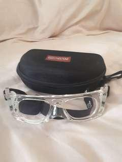 Zim spec sports goggles (used for basketball)