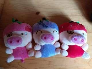 3隻小豬 毛公仔