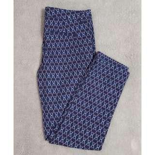 Joe Fresh Printed Pants (size 0)