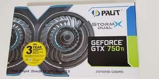 GeForce®GTX 750 Ti StormX OC (2048MB GDDR5)