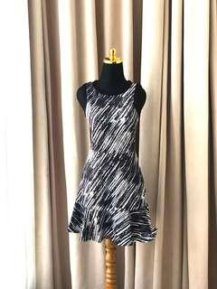 Forever21 Zara style zebra pattern mini dress