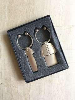 Couple key holder