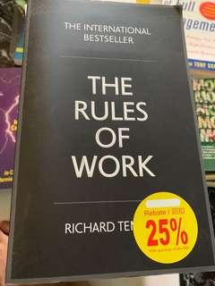 The Rules of Work by Richard Templer