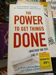 The Power of Getting Things Done