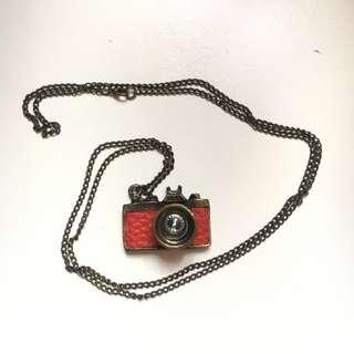 Antique looking Camera Necklace
