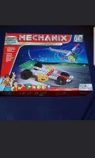 Mechanix- Engineering model system for creative kids