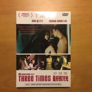 🚚 Movie DVD: Three Times (Chinese movie)