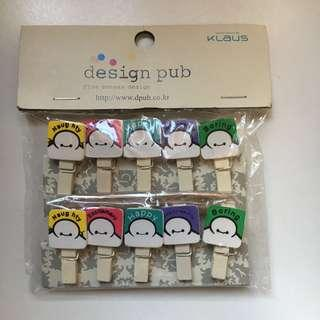 Cute Craft Pegs
