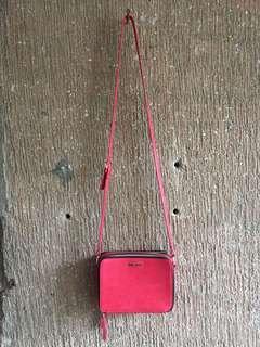 Nine West Two Zipped Box Sling Bag