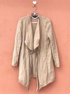 ZARA Camel Coat